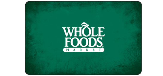 011.- Whole Foods Gift Card