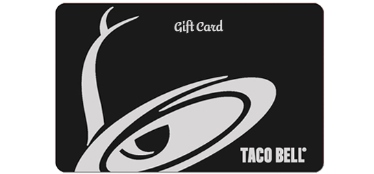 014.- Taco Bell Gift Card